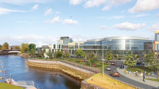 Limerick is undergoing €1bn investment in new enterprise and property infrastructure