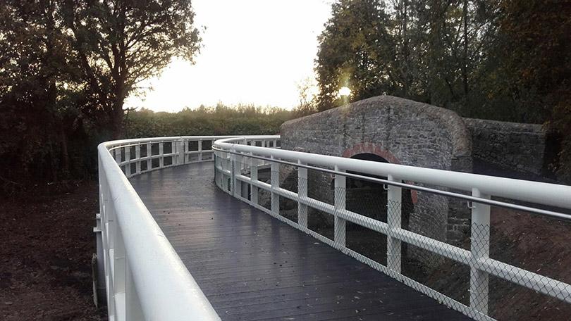 UL riverbank walkway