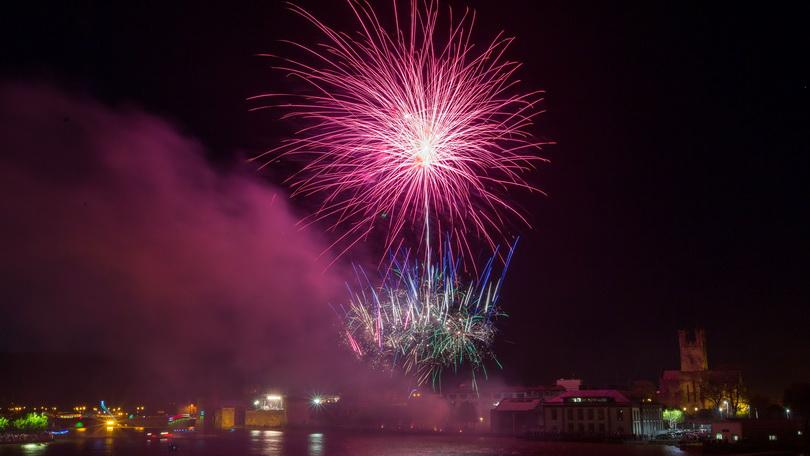 Fireworks in Limerick