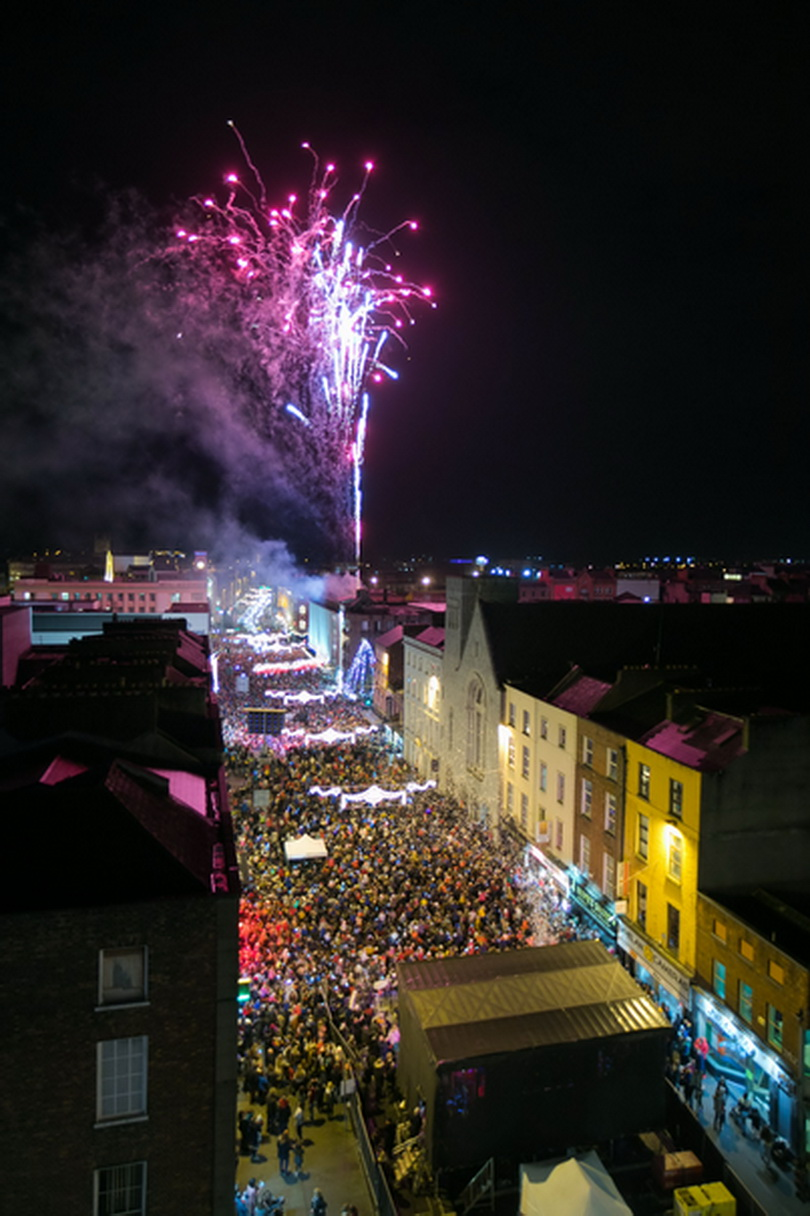 Light Up Limerick for Christmas. Photo: Oisin McHugh True Media