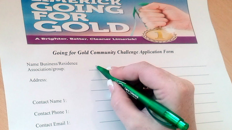 Going For Gold application form