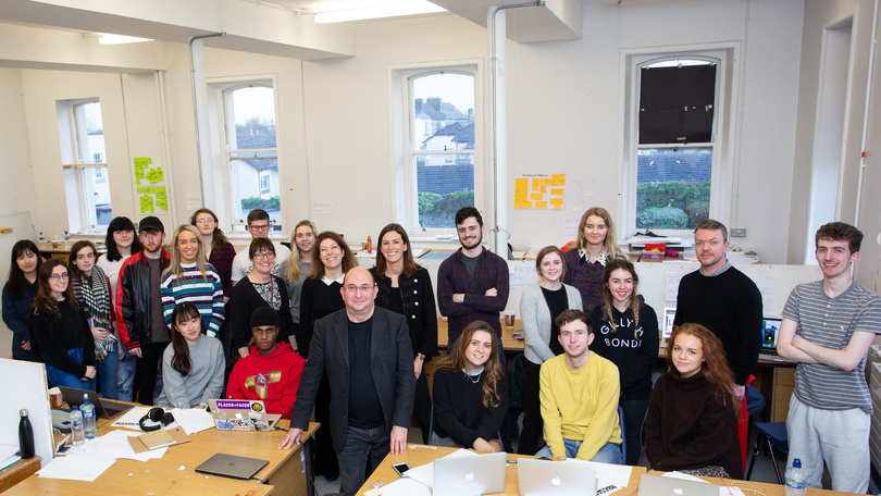 Limerick City and County Council with M&C Saatchi at Limerick School of Art & Design.