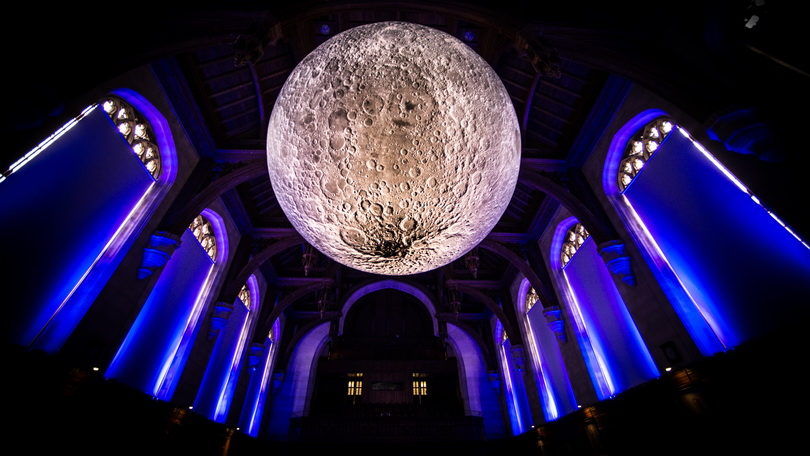 Museum of the Moon at University of Bristol, UK. Photo credit: Simon Galloway, Picture Editor, SWNS1