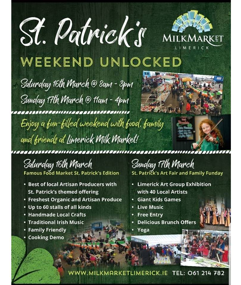 St Patricks Weekend Unlocked