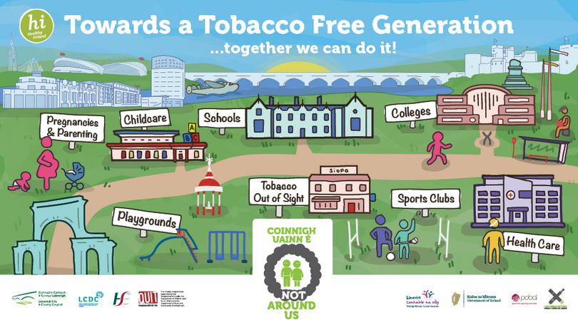 Tobacco Free Limerick poster