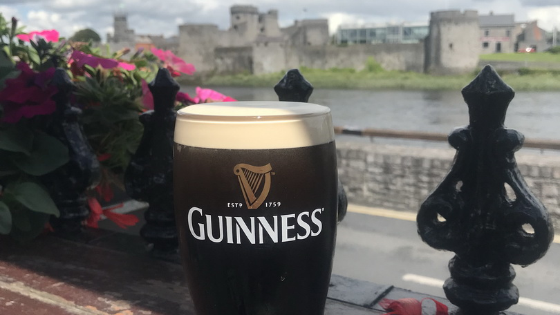 A drink with a view The Curragower Limerick