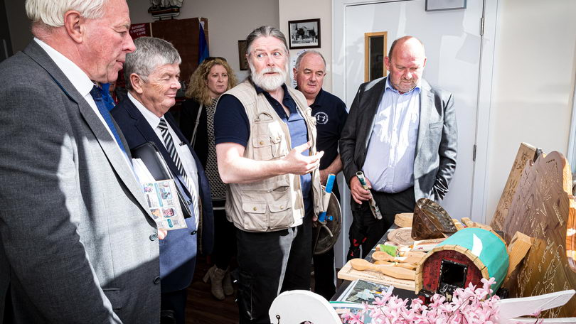 Pride of Place - St Mary's Men's Shed. Pic Keith Wiseman
