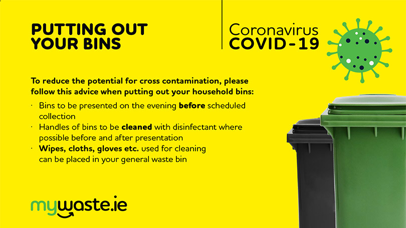 Covid-19 - Putting Out Your Bins Notice