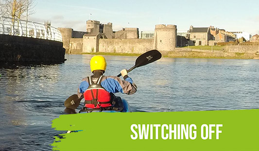 Keep Well - Switching off (Kayaking on the Shannon)