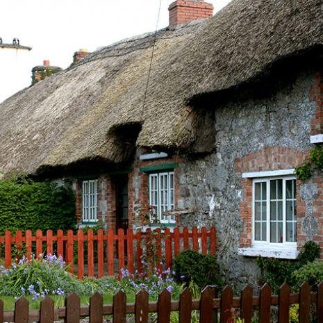 Cottages in Adare, Co. Limerick