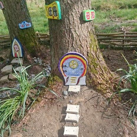 Abbeyfeale Town Park Fairy Village