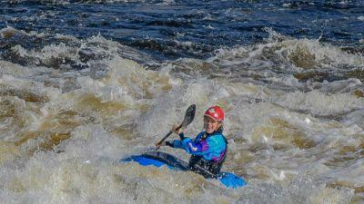 Fun on our majestic river Shannon in Limerick. (Sean Russell)