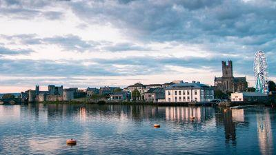 Limerick has the best views around the Shannon River and our iconic sights make it stand out with both Medieval, historic and modern architecture in one line of view. (Valerie Beegan)