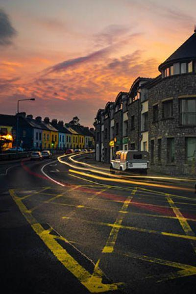 I love this photo because it shows the charm of Limerick's streets. Making it the place in Europe that is being visited by people from all over the world. With it's inspiring colourfulness, mixture of old and new, just at the banks of River Shannon - a European City! (Justyna Machnicka)