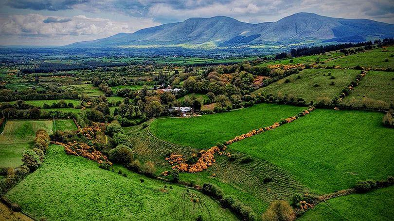 The Galtee Mountains from Ballylanders, Co. Limerick (Brian Cleary)