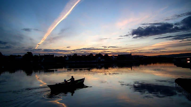 The River Shannon is a direct link across County Limerick to the Atlantic Ocean. (Natalia Sobiecka)
