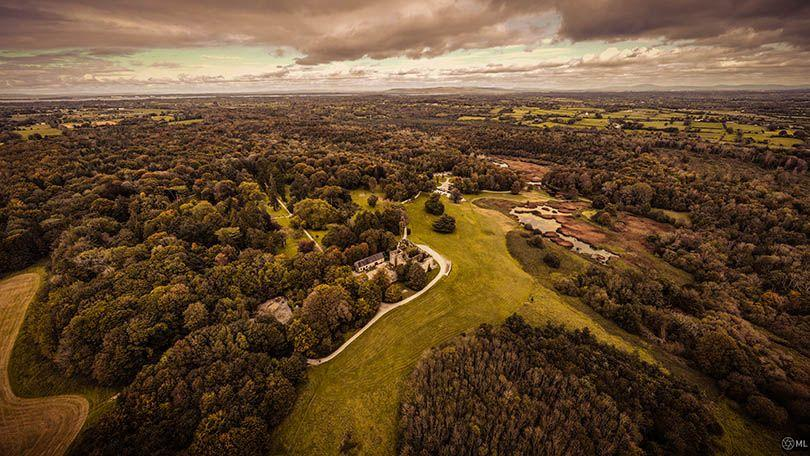My picture is a shot of Curragh Chase from 120m in the air. This shows a different side to what Limerick has to offer the world, as positioned on the edge of the Atlantic and as a gateway to Europe. (Michael Lenihan)