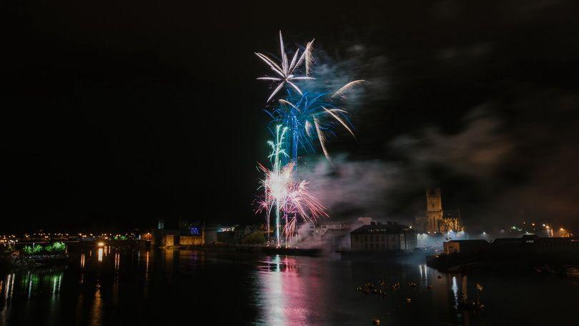 Riverfest 2018 included the country's biggest fireworks display of the summer which was watched by 25,000 people. Photo: Sean Curtin True Media