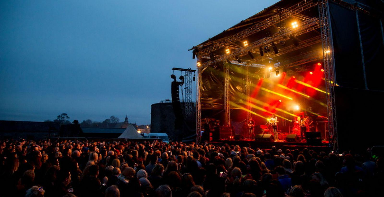 The Coronas Live at the Castle Limerick