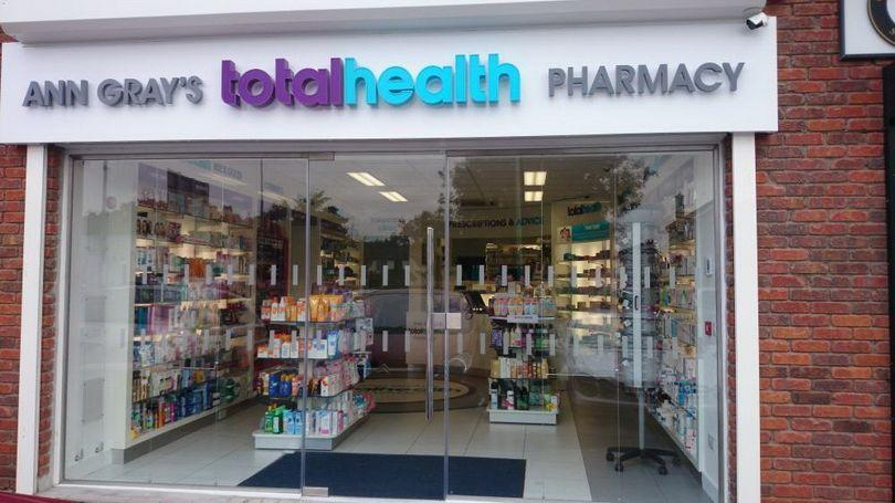 Ann Gray's Totalhealth Pharmacy 810 x 456