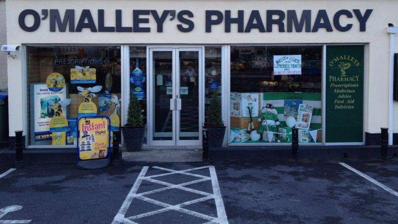 O'Malley's Pharmacy 810 x 456