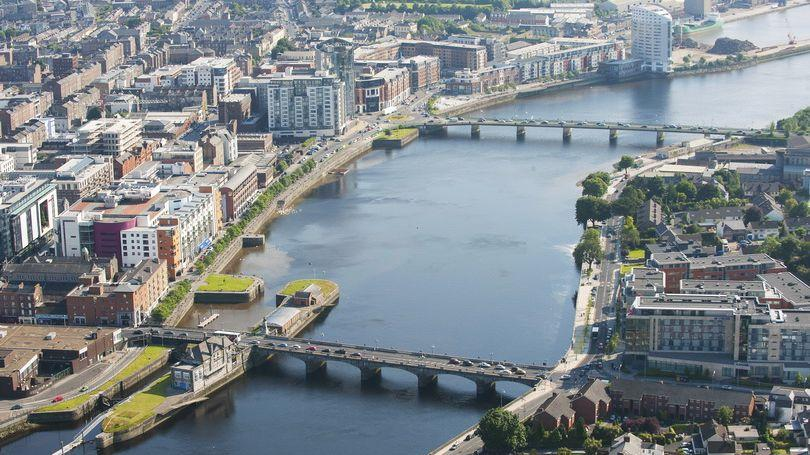Limerick City Aerial View