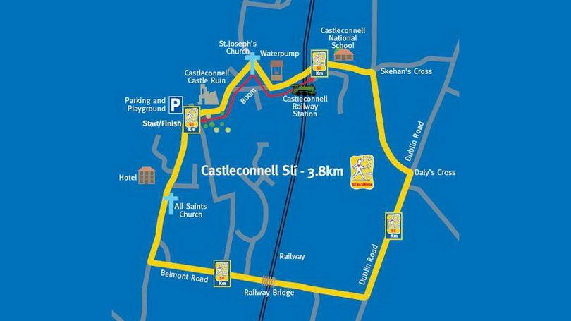 Castleconnell Slí na Sláinte Walking Route 810 x 456