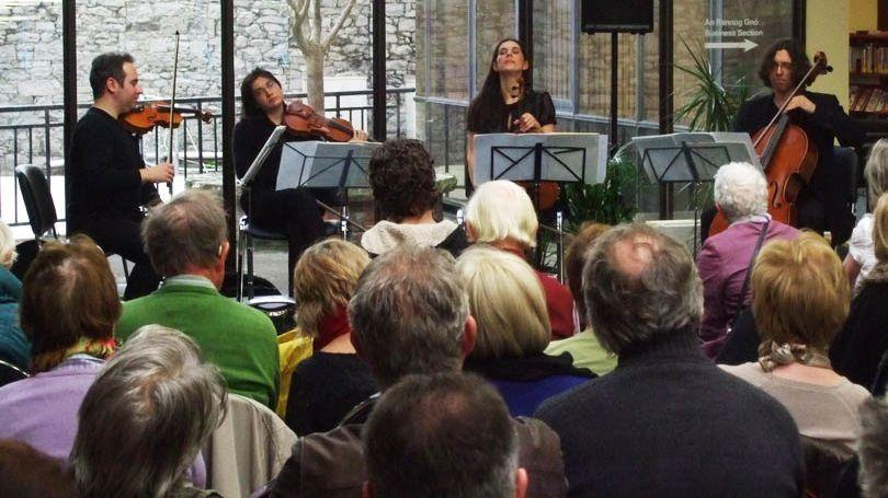 Contempo Quartet at the Granary Library