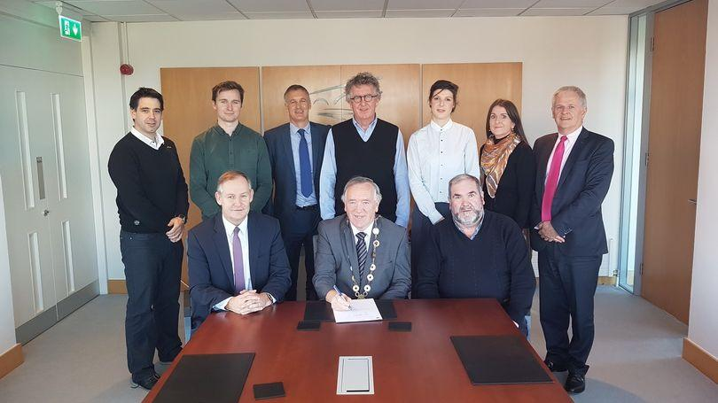 Contracts signed for St Mary's Park infill homes