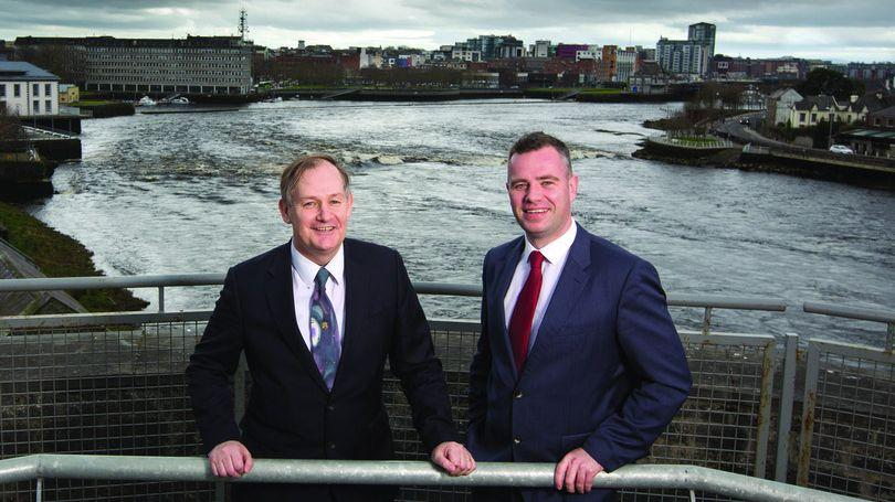 Conn Murray, Chief Executive of Limerick City and County Council, and Dr James Ring, Chief Executive Limerick Chamber