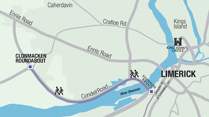 Neil Cusack Olympic Trail, Condell Road