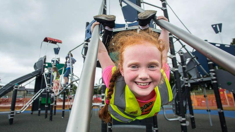 Pictured at Mungret Park and Playground was Robyn Lynch. Picture: Alan Place