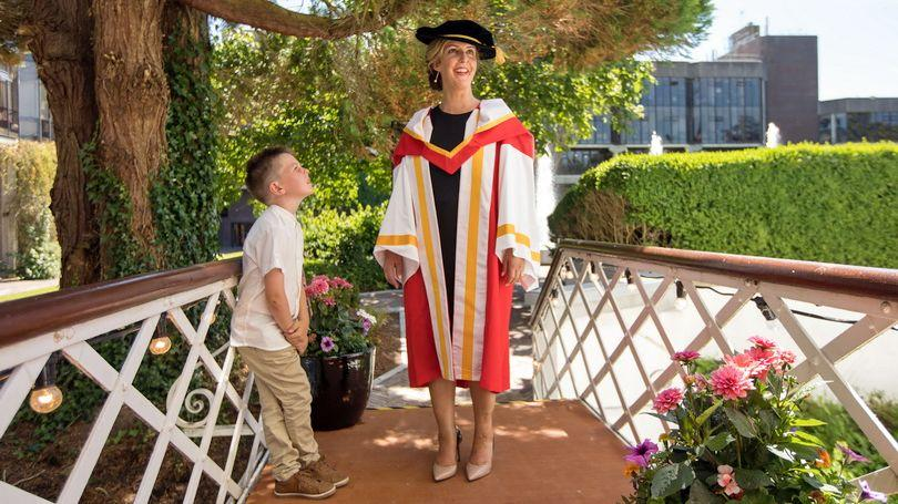 UL awards Vicky Phelan honorary degree of Doctor of Letters
