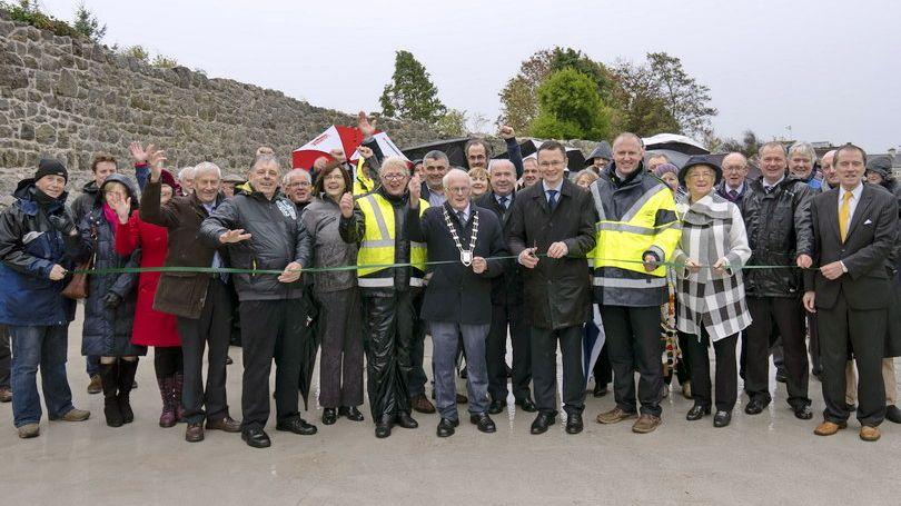 Kilmallock Bridge and West Wall Walkway Opening