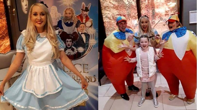 Alice in Wonderland Christmas Panto 2018