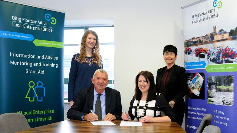 LEO Limerick and Network Ireland Limerick Partnership Agreement