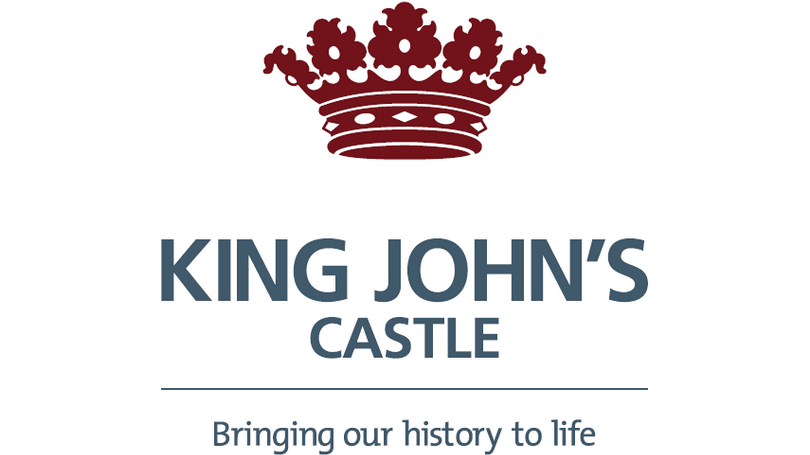 King John's Castle Logo