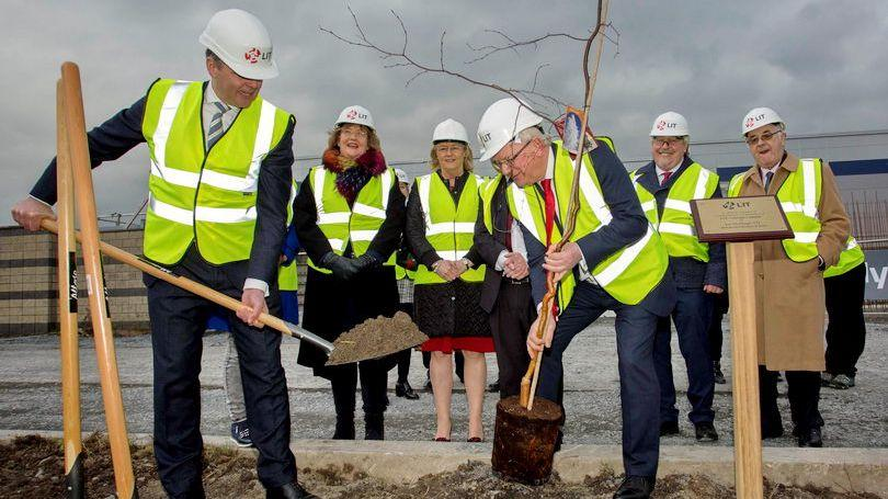 Minister for Education LIT Coonagh Campus