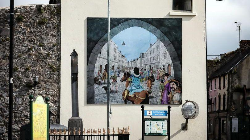 Priory Walk Kilmallock/ Mural  Sheare's Street Pic Keith Wiseman
