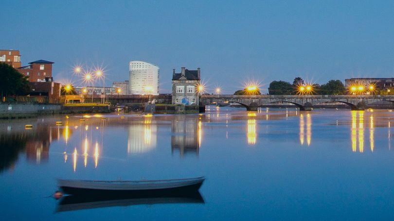 River Shannon in Limerick Pic Eoghan Lyons