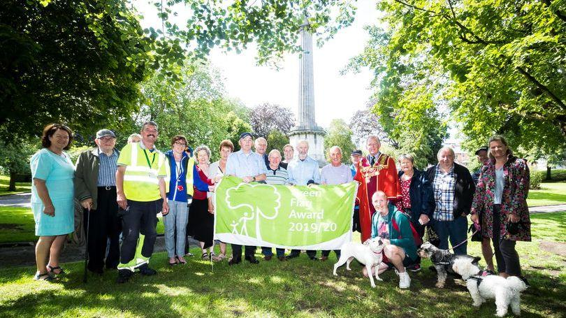Peoples Park Green Flag Pic: Keith Wiseman