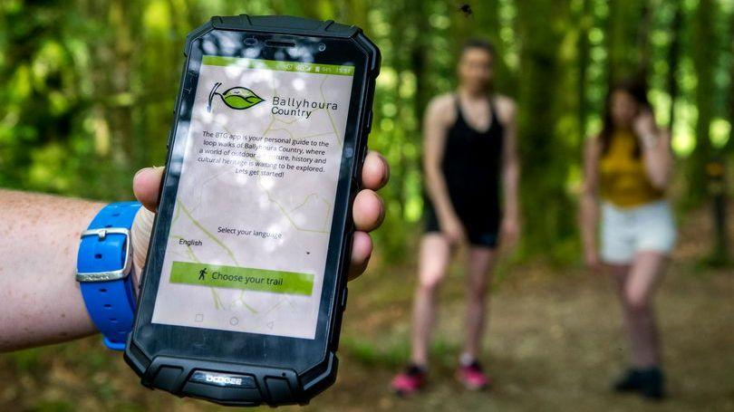 Ballyhoura Trails Guide App launch