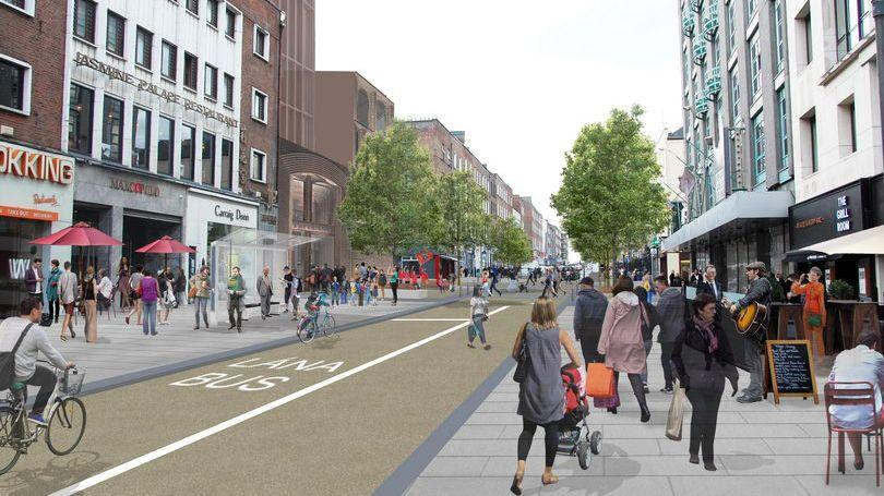 Artist Impression - Roches St to Cecil St