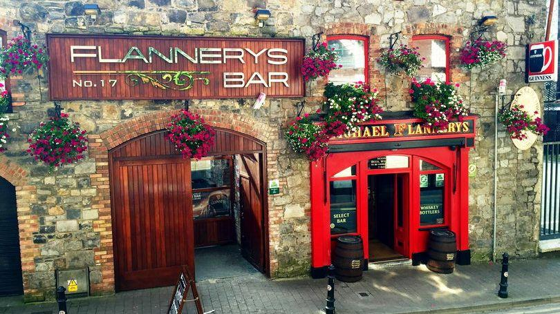 Flannery's Bar Exterior