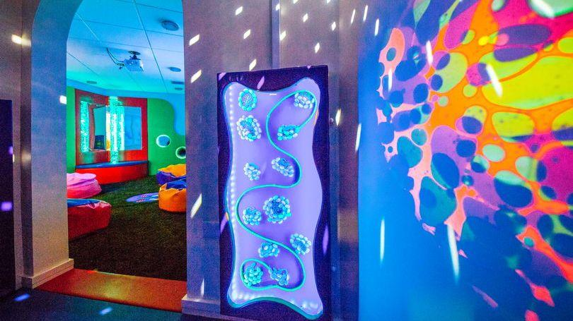 Watch House Cross Library Sensory Room Pic Brian Arthur