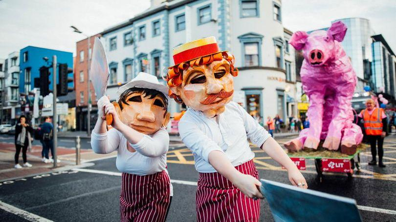 Limerick Culture Night Pigtown Parade. Pic Brian Arthur