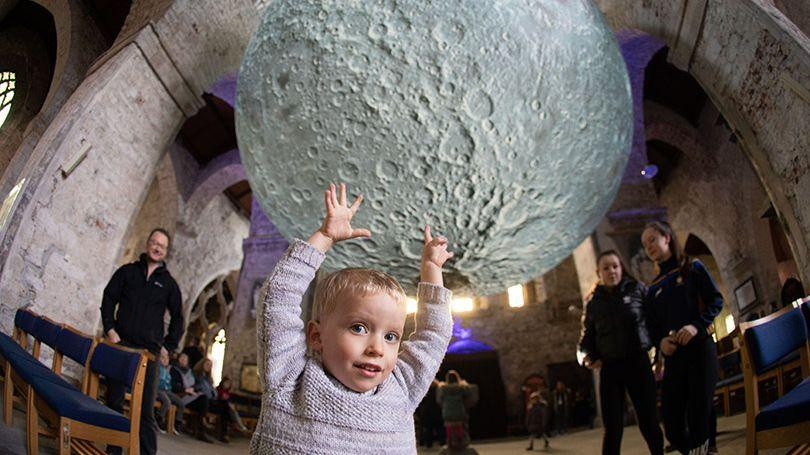 Funding & Support - Museum of the Moon (Pic Sean Curtin)