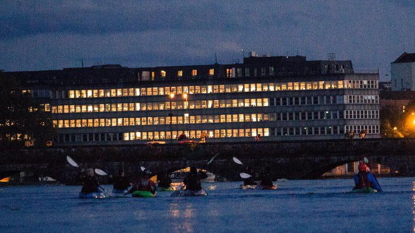 Get West Night Kayak Limerick