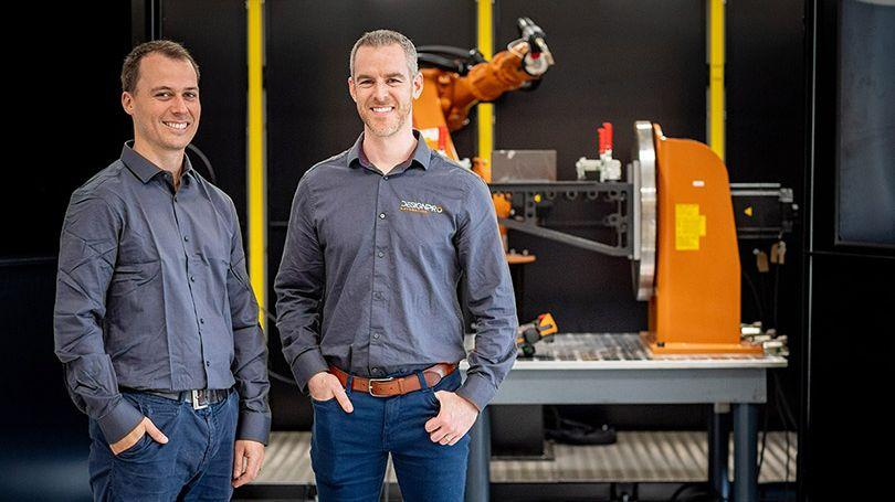 DesignPro Automation and LCETB - Ireland's first certified robotic welding course
