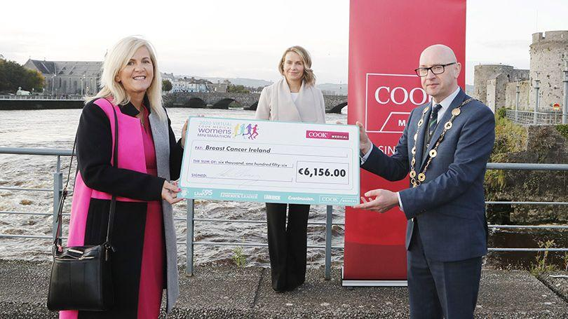 COOK Medical Presentations - Breast Cancer Ireland (Pic: Liam Burke-Press 22)